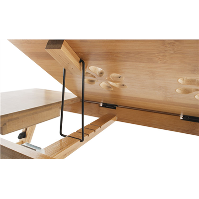 Stolik Pod Laptopa Z Wentylacją Drewniany